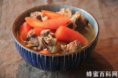 胡萝卜炖羊肉不能和什么同吃