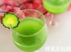 <em>青瓜</em><em>蜂蜜</em>柠檬饮的做法及作用功效