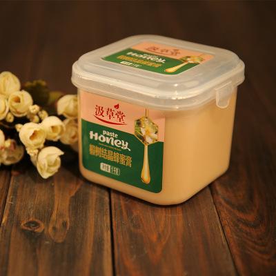 椴树原蜜长白山野生雪蜜 自然结晶成熟白蜜蜂蜜膏1000g 一件代发