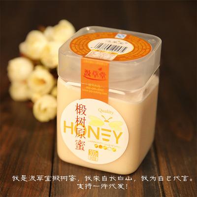 汲草堂 椴树原蜜300g 蜂蜜真蜜 厂家直销微商进货亚马逊跨境