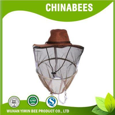 益民蜂业 养蜂工具 防蜂帽 牛仔蜂帽 养蜜蜂防护帽