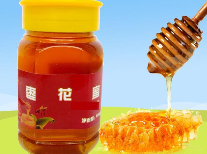 新蜜農家土特產野生蜂蜜 棗花蜂蜜500g
