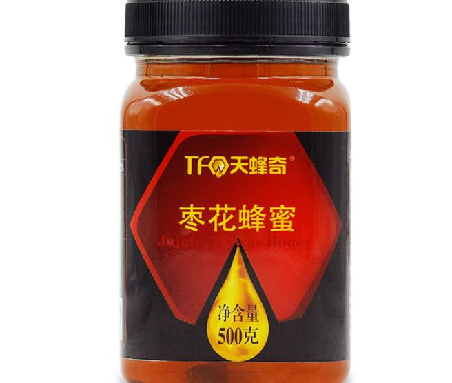 吕梁枣花蜜500g天然成熟土蜂蜜批发 厂家直销