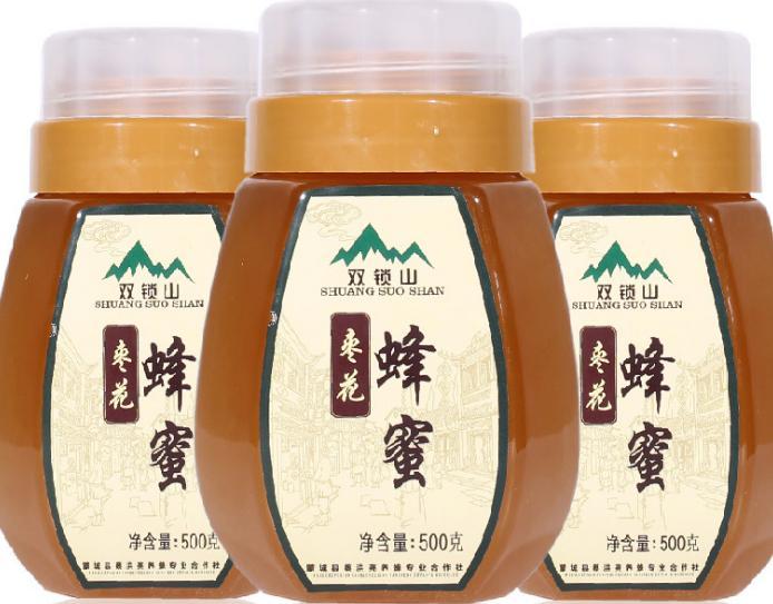 供應塑料瓶裝500g棗花蜂蜜 農家自產棗花蜂蜜量大從優