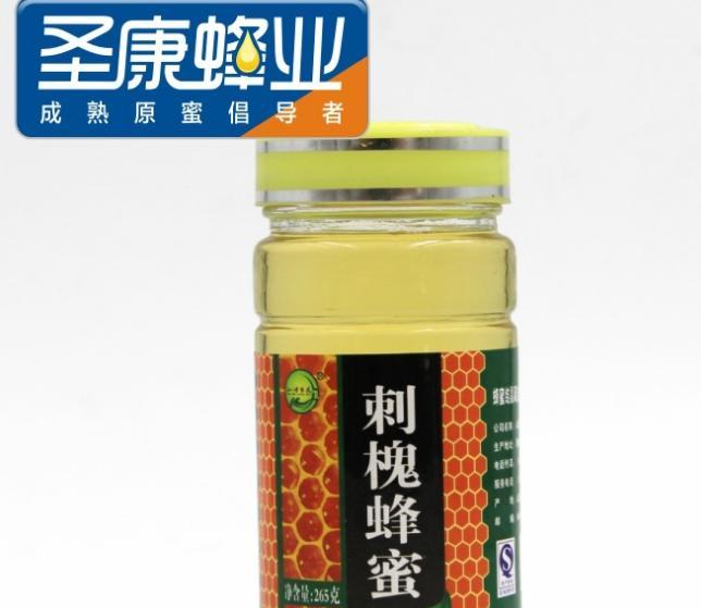 厂家批发刺槐蜂蜜41度0添加槐花蜜刺槐蜜265g瓶装蜂蜜OEM洋槐蜜