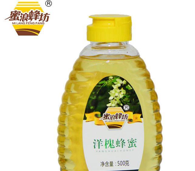 蜜浪蜂坊 500g洋槐蜜農家自產土蜂蜜 廠家批發全國招代理