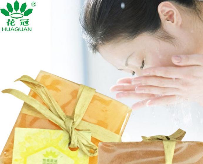 花冠蜂蜜芦荟润肤香皂100g/块 滋润蜂蜜香皂洗漱用品洁面手工香皂