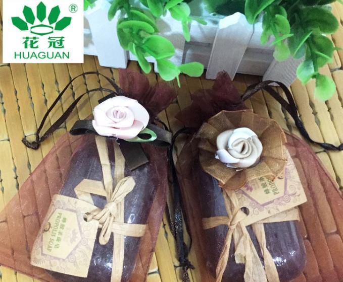 內蒙古手工皂洗臉潔面蜂蜜香皂 花冠蜂膠殺菌皂100g一塊小香皂