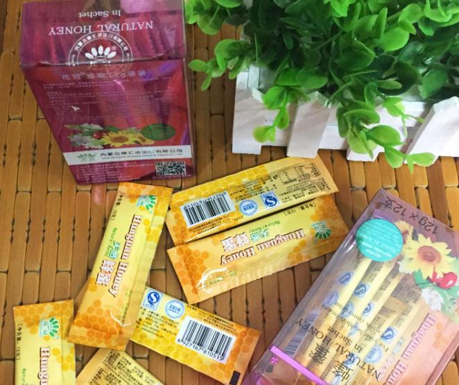 内蒙古小包散装蜂蜜oem代加工贴牌分装 小袋装百花蜂蜜野生土蜂蜜