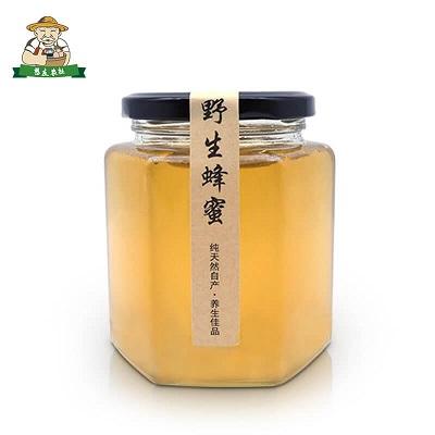 原生态野生蜂蜜大崀山深处野生纯正天然土蜂蜜