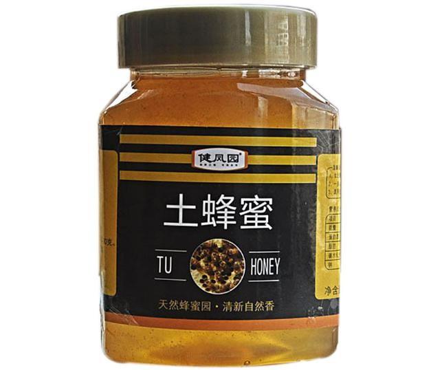 天然蜂場農家自產野生土蜂蜜500g批發蜜深山成熟原蜜瓶裝一件代發