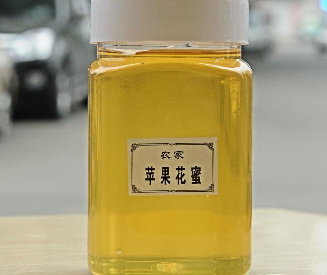 健凤园农家蜂场养蜂人新采苹果花蜂蜜500g成熟原蜜1斤装一件代发