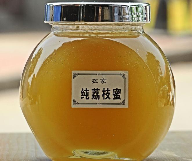 天然蜂場新采成熟荔枝龍眼雪脂蓮蘋果五味子蜂蜜500g淘寶微商一件
