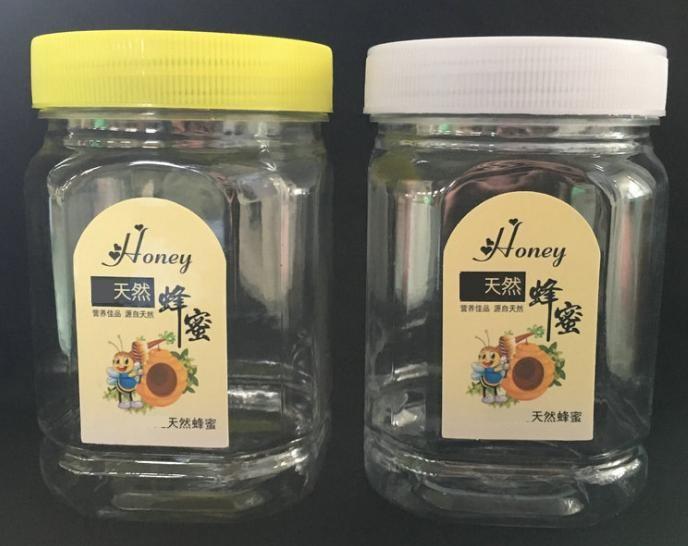 PET塑料方瓶 pet塑料瓶食品瓶pet亮瓶500g蜂蜜瓶 定做pet蜂蜜瓶