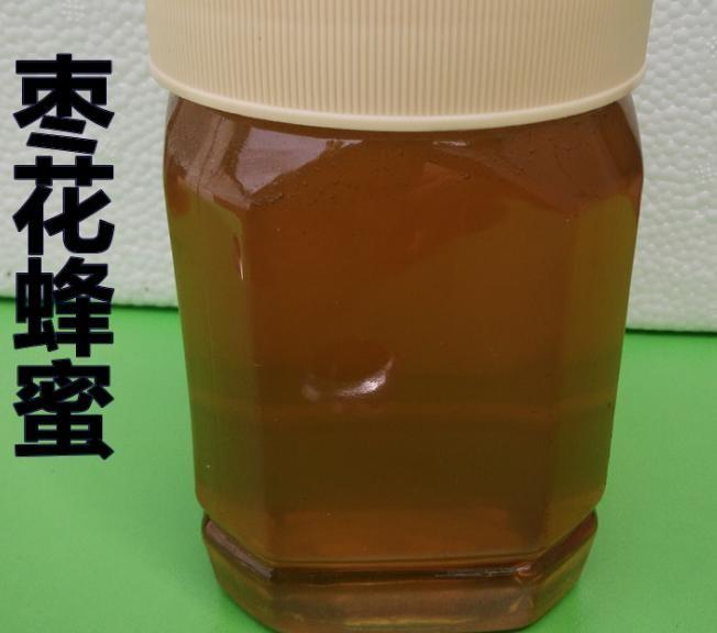 批发枣花蜂蜜 原蜜无添加 土蜂蜜 枣花蜜 蜂蜜批发 500克
