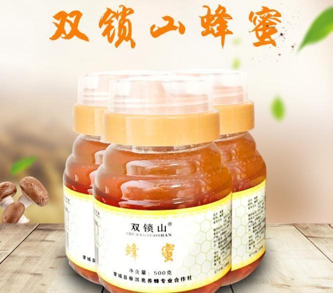 农家自产野生蜂蜜 塑料瓶装500g瓶装蜂蜜 厂家批发百花蜂蜜