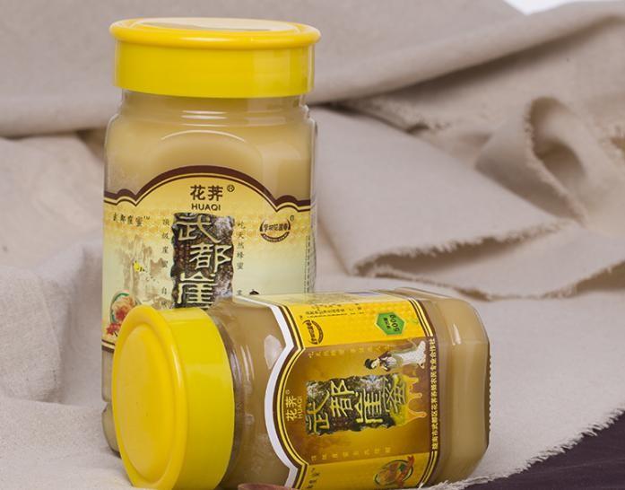 陇南特产武都崖蜜花荠蜂蜜崖蜜野生一件代发瓶装500g 批发包邮