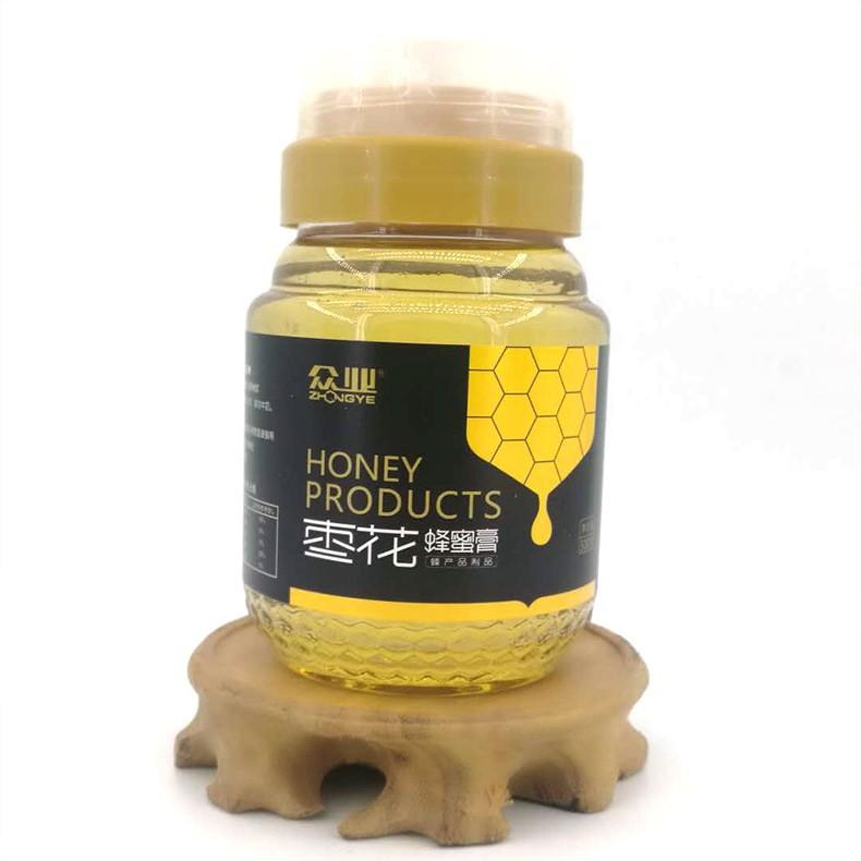 厂家直销 500g 塑料瓶蜂蜜膏