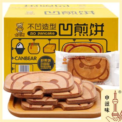 卡賓熊 凹煎餅 蛋烤味/蜂蜜黃油味/榴蓮味 申滋味整箱批發 4斤/箱