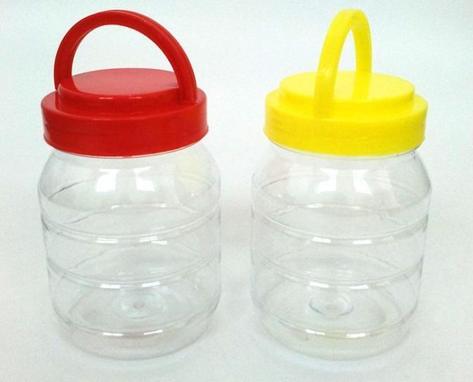 750克加厚PET塑料瓶蜂蜜容器瓶 1.5斤透明蜂蜜罐酱菜瓶通用包装瓶