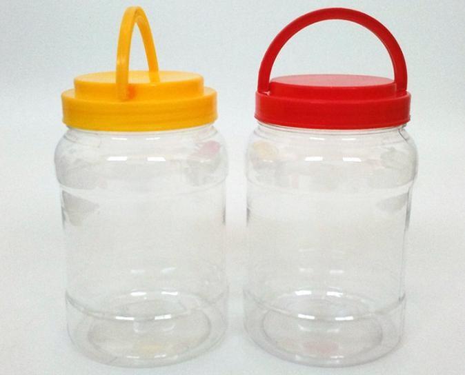 PET全新塑料瓶 1500g蜂蜜包装瓶 3斤透明手提蜂蜜罐