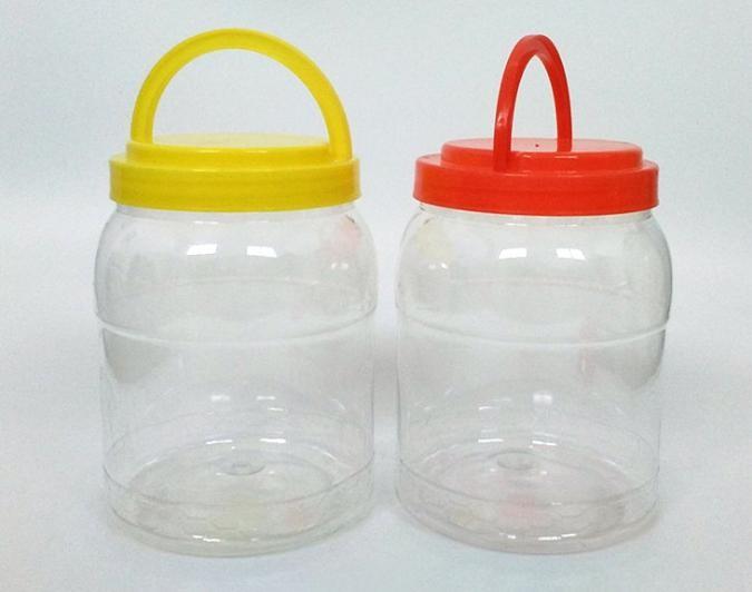 全新PET塑料包装瓶干果瓶 6斤蜂蜜瓶糖果罐通用包装罐子