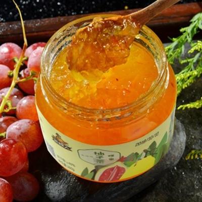 采蜂人蜂蜜柚子茶 360g 柚子醬果醬飲料沖調果汁 微商代發可貼牌