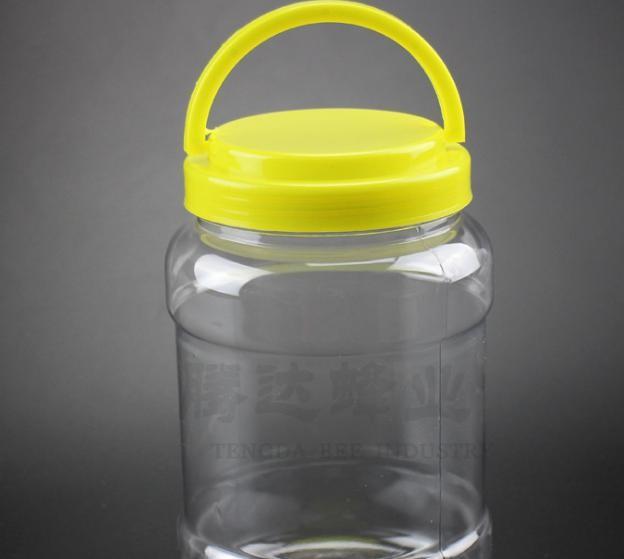蜂蜜瓶塑料3斤装蜂蜜罐子果酱腌菜辣椒瓶子1500gPET蜂蜜瓶批发