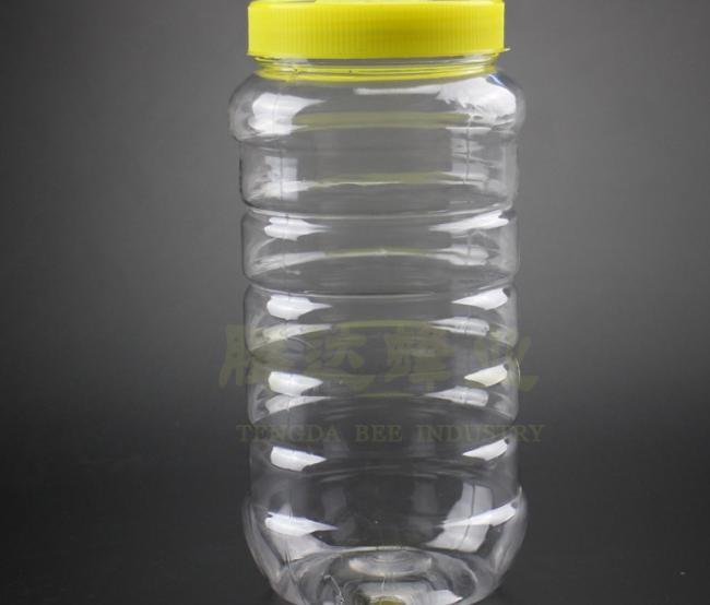 蜂蜜罐子塑料2斤装塑料瓶蜂蜜瓶PET材质1000g食品包装瓶厂家直销