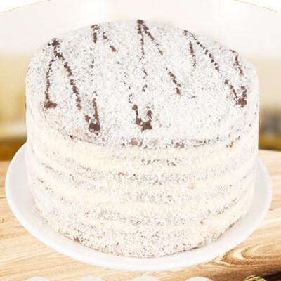 俄罗斯进口 双山牌提拉米苏 椰蓉味 经典奶油蜂蜜蛋糕 500克