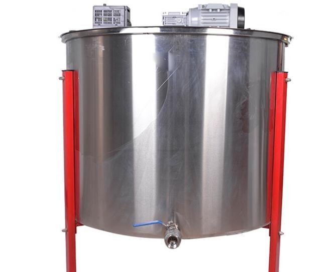 蜂旺出口型12框电动304不锈钢内框摇蜜机 蜂蜜分离机蜂蜜瓶蜜桶