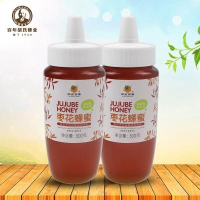 厂家直销枣花蜂蜜500g 纯蜂蜜批发小瓶装