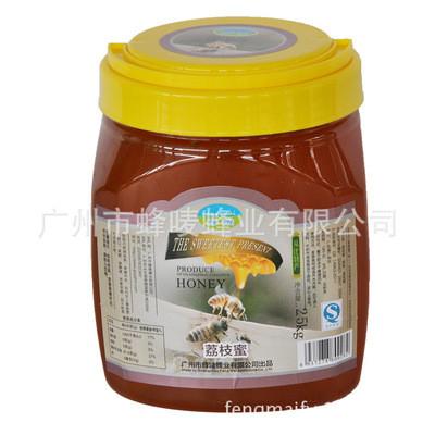蜂蜜罐装 从化荔枝蜜 蜂蜜 蜂唛牌蜂蜜 2500g瓶装厂家直供