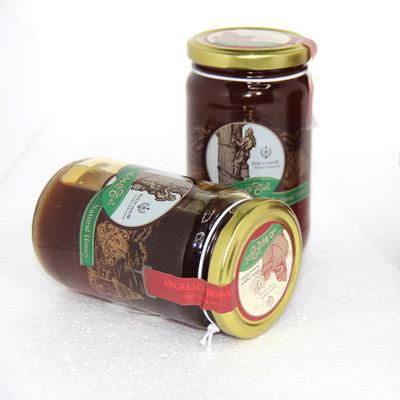 俄罗斯蜂蜜阿尔泰当归蜜新品蜂蜜500g/瓶俄罗斯进口食品批发