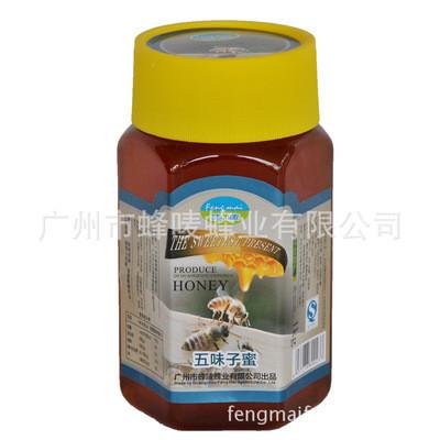 成熟蜂蜜五味子蜂蜜蜂蜜散装瓶装厂家直销代发成熟蜂蜜