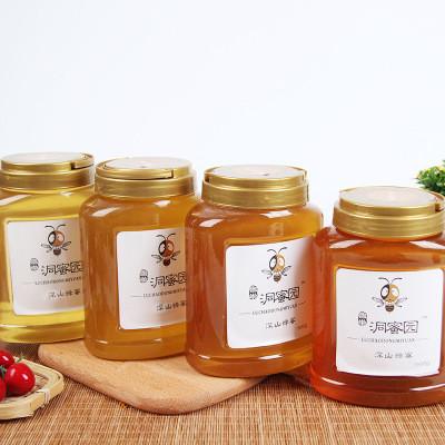家庭装波美度42以上的成熟蜂蜜,山花蜂蜜,蜂场直销