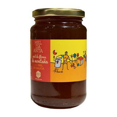 进口蜂蜜 西班牙百花蜂蜜500g瓶装欧露兹蜂蜜