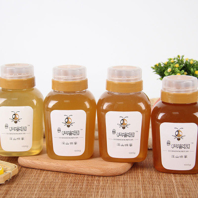 鲁巢洞蜜园天然山花蜂蜜自然浓缩成熟蜂蜜 蜂场直供