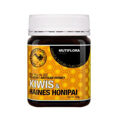 基维氏新西兰原装进口多花种丛林蜜成熟蜂蜜250g现货批发