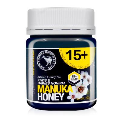 基維氏蜂蜜新西蘭原裝進口蜂蜜結晶蜜麥盧卡UMF15+蜂蜜250g