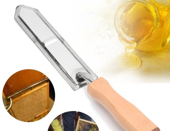 好蜂景蜂业供应养蜂工具 电动割蜜刀 调温割蜡割蜜木柄电热取蜜刀