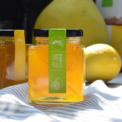 一件代发蜂蜜柠檬茶饮料酱果味冲饮品248克微商代理柠檬酸