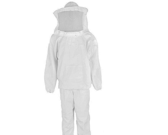 养蜂工具新养蜂者养蜂衣服白色分体防蜂衣蜂具防蜂服