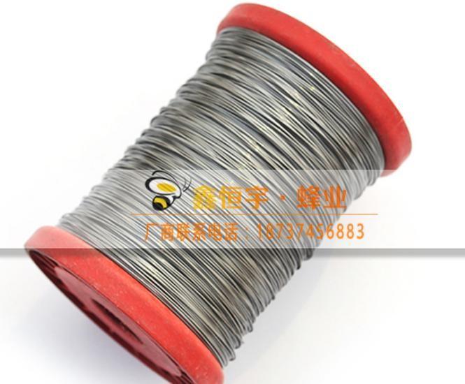 巢框專用不銹鋼絲24號不銹鋼絲巢礎巢框鐵絲不銹鋼絲養蜂工具批發