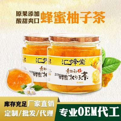 蜂蜜檸檬茶500g