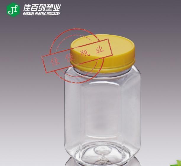 蜂蜜塑料瓶 500G新款