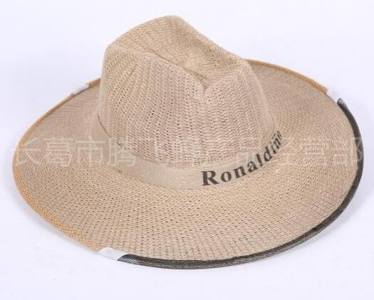 防蜂帽 加厚牛仔帽 防蜂帽子加粗鋼圈