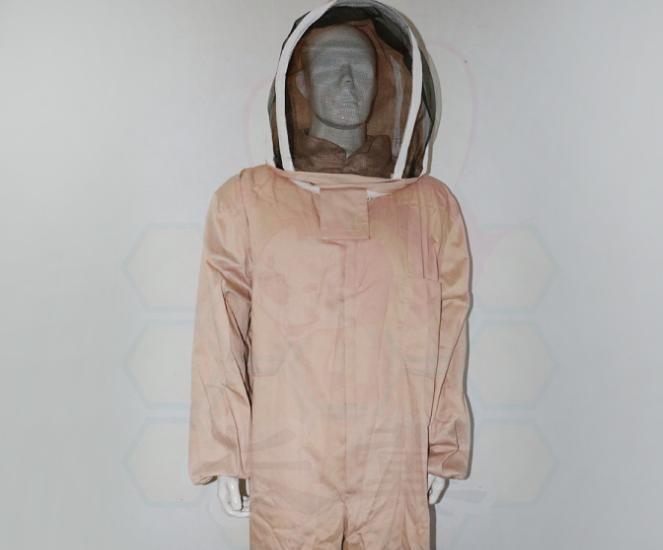 浅咖色连体太空服 蜂衣 防蜂服 防马蜂专用 马蜂服