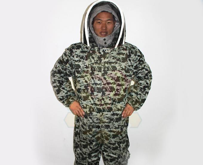 太空連體防蜂服/迷彩服/蜂衣蜂帽/