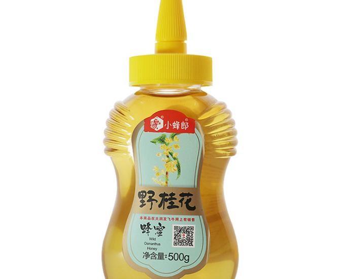 厂家直销 小蜂郎野桂花蜂蜜 500g